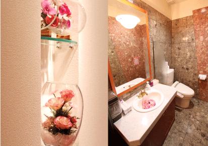 洗面化粧台とお手洗い